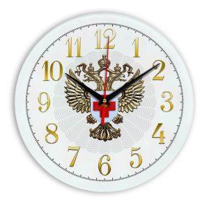 Настенные часы «emblema-zdravoohraneniya-02-53»