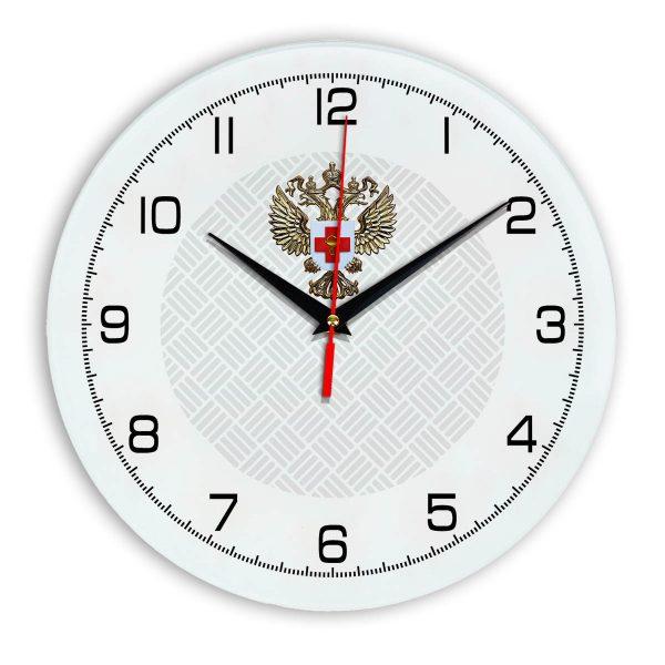 Настенные часы «emblema-zdravoohraneniya-02-54»