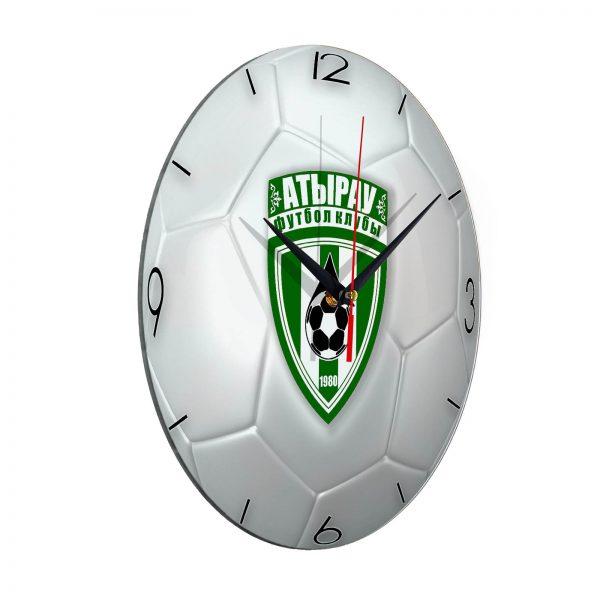 Настенные часы «Футбольный мяч ATYRAU»