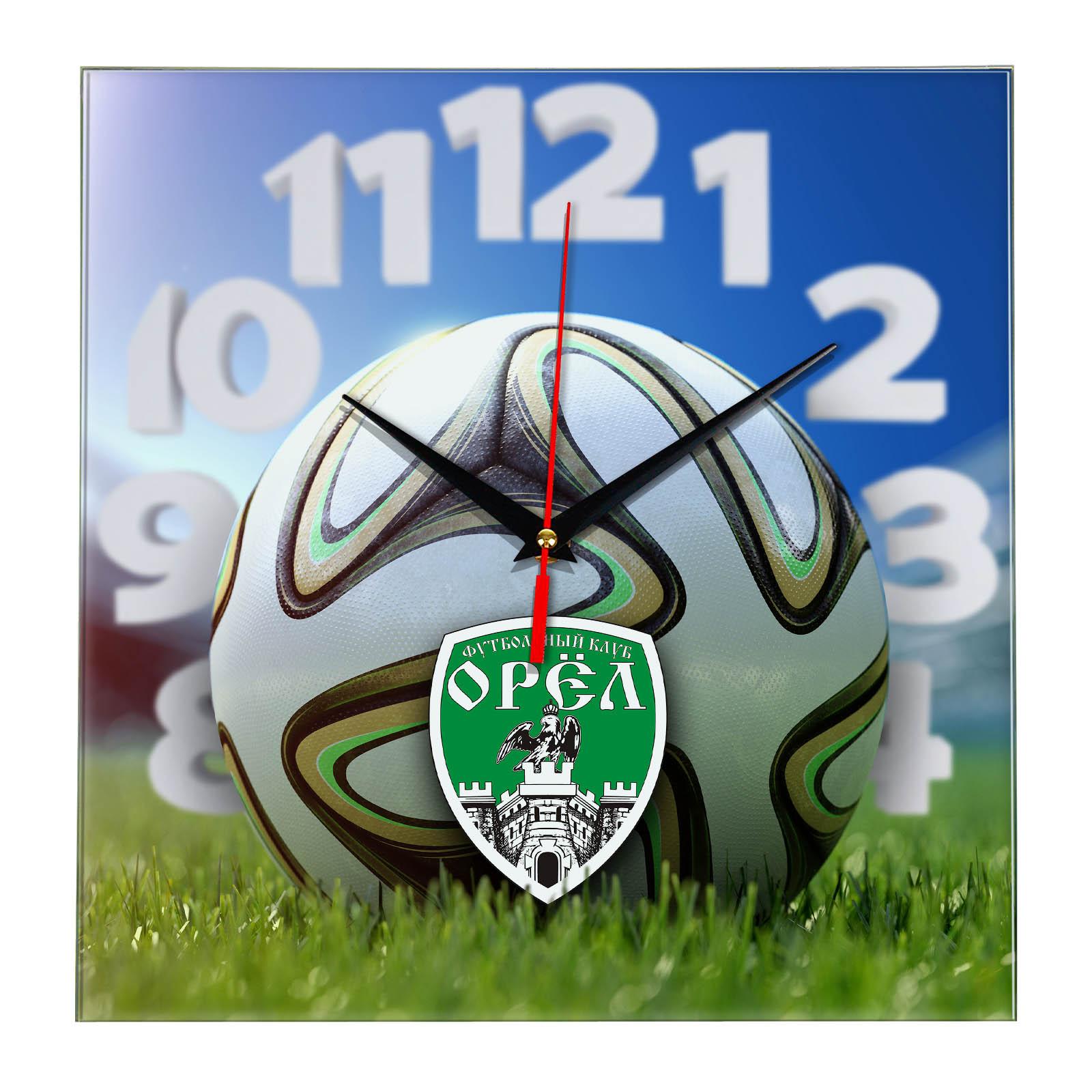 Настенные часы «На стадионе OREL»