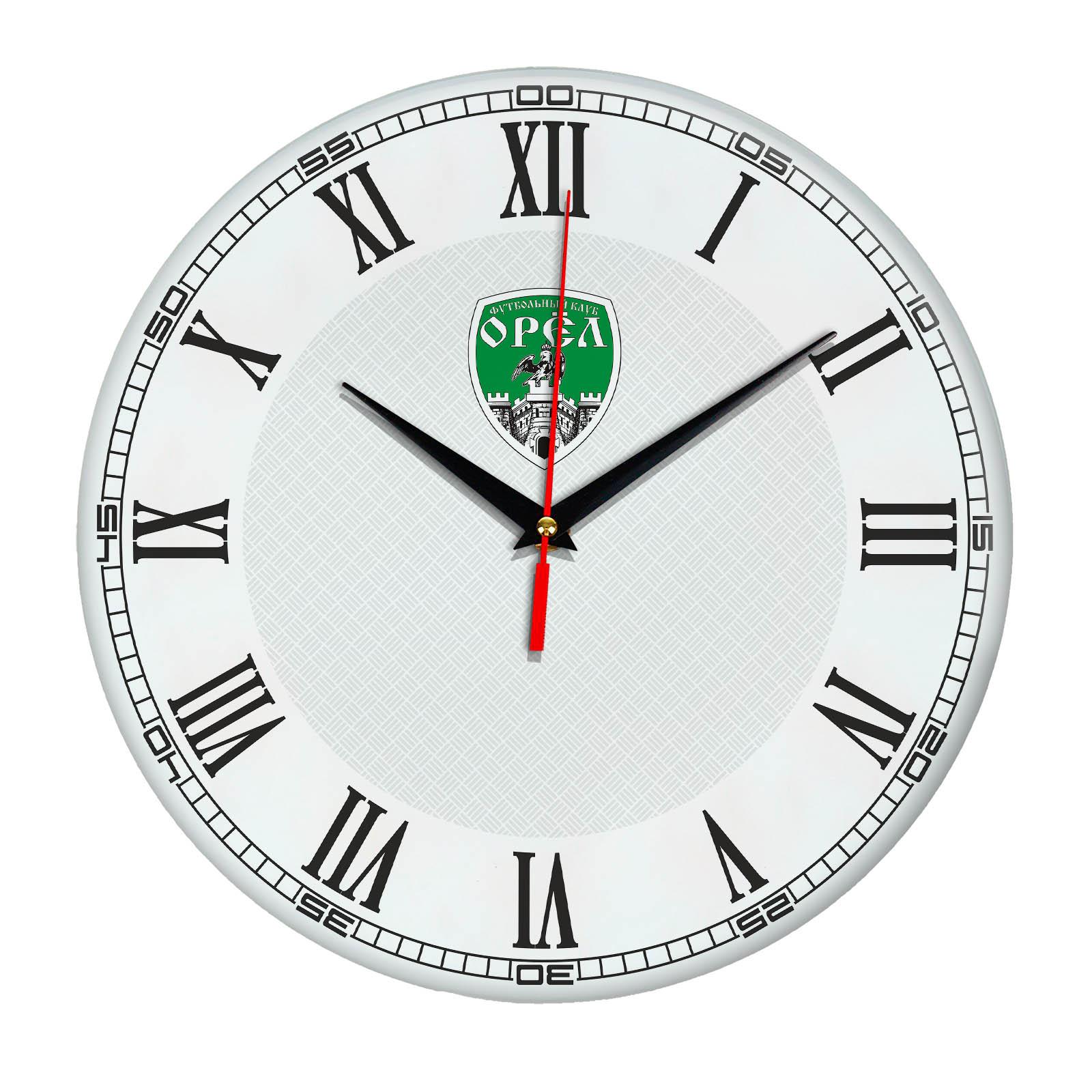 Настенные часы «с символикой OREL»