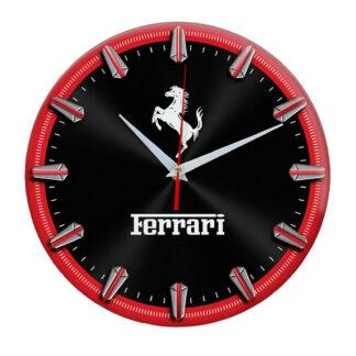Настенные часы «Ferrari red»