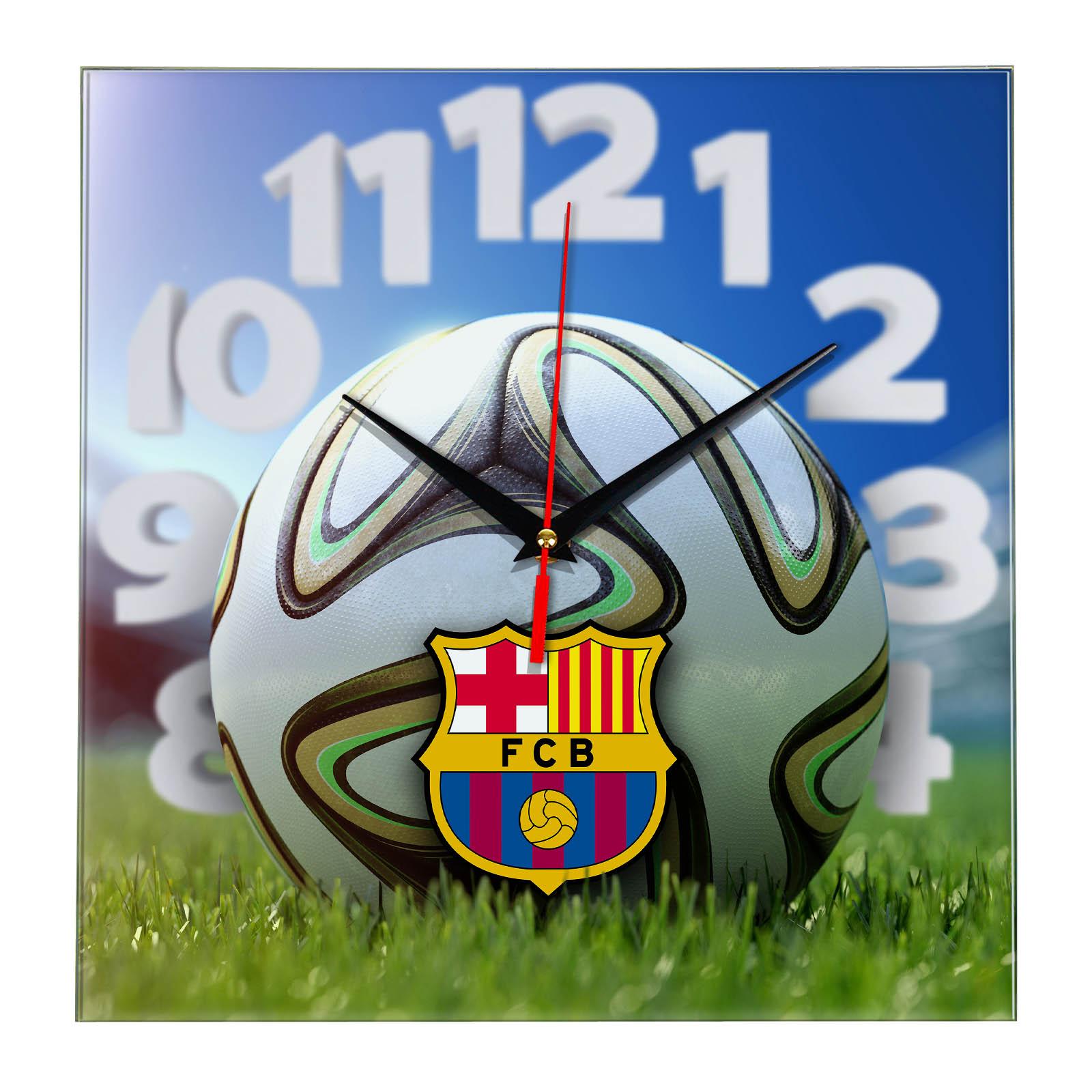 Настенные часы «На стадионе BARSELONA»