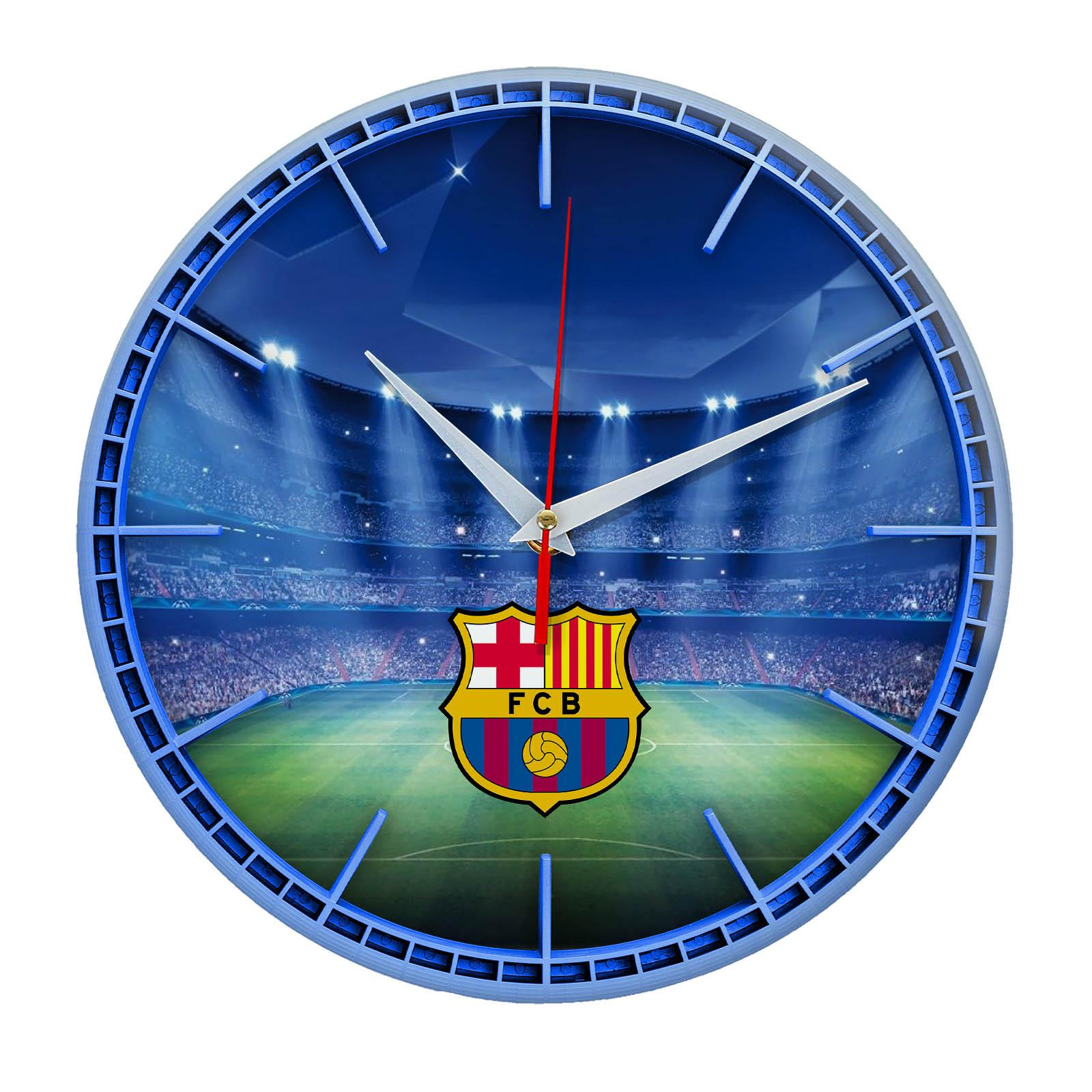 Настенные часы «Сувенир для фаната BARSELONA»