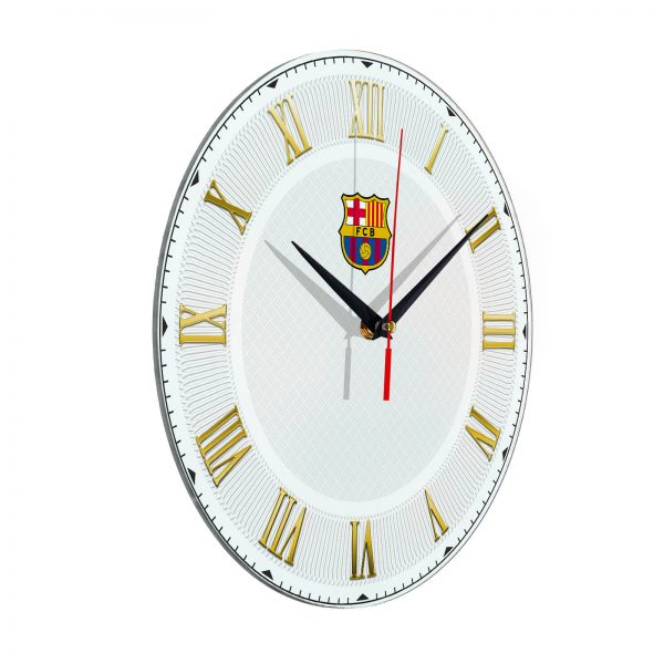 Настенные часы «Футбольный клуб BARSELONA»