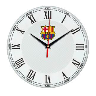 Настенные часы «с символикой BARSELONA»