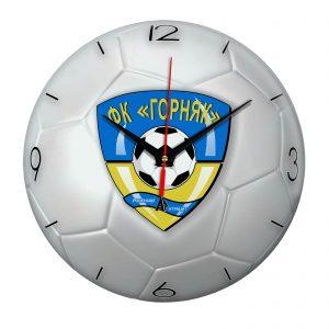 Настенные часы «Футбольный мяч Gornyak»