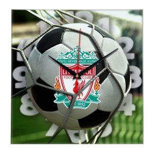 Настенные часы «С логотипом Liverpool»