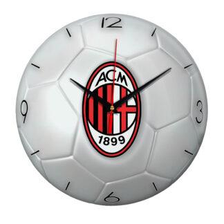 Настенные часы «Футбольный мяч Milan»