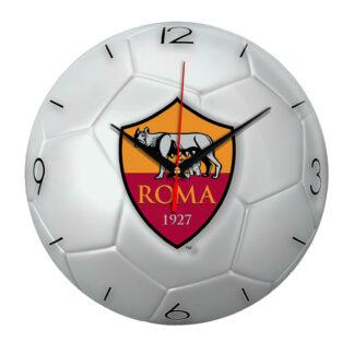 Настенные часы «Футбольный мяч Roma»