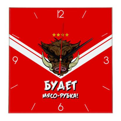 Настенные часы Спартак «Будет мясо рубка»