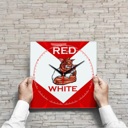 Настенные часы Red and White Спартак