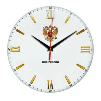 Настенные часы  с символикой «ФНС»