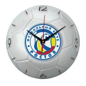 Настенные часы «Футбольный мяч Futbol klub rostov»