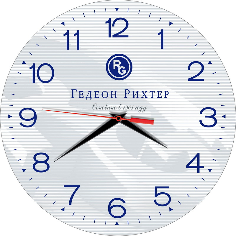 Часы сувенир «Gedeon Richter»