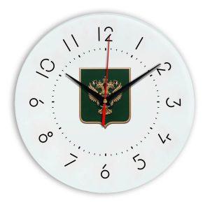 Настенные часы «gerb-rosimushhestva-schit-05»