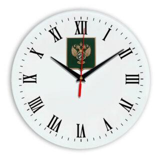 Настенные часы  «gerb-rosimushhestva-schit-39»