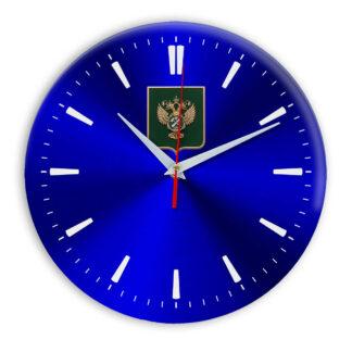 Настенные часы  «gerb-rosimushhestva-schit-40»