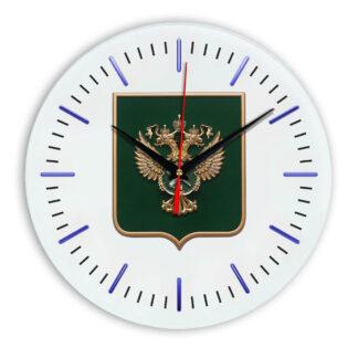 Настенные часы  «gerb-rosimushhestva-schit-52»