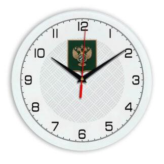 Настенные часы  «gerb-rosimushhestva-schit-54»