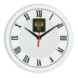 Настенные часы  «gerb-rosimushhestva-schit-55»