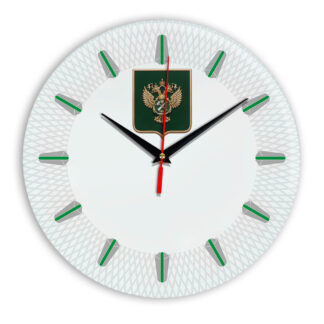 Настенные часы  «gerb-rosimushhestva-schit-56»