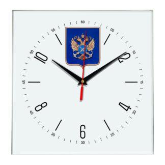 Настенные часы  «gerb-rosrybolovstva-02-04»