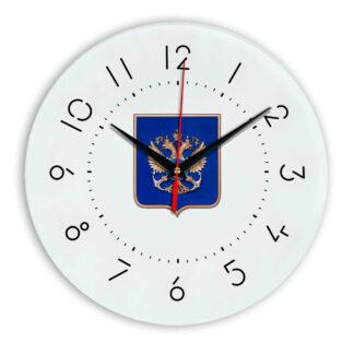 Настенные часы  «gerb-rosrybolovstva-02-05»