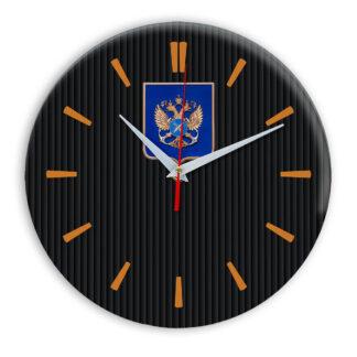 Настенные часы  «gerb-rosrybolovstva-02-32»