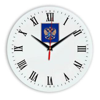 Настенные часы  «gerb-rosrybolovstva-02-39»