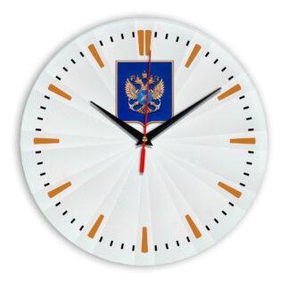 Настенные часы  «gerb-rosrybolovstva-02-43»