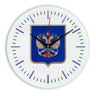 Настенные часы  «gerb-rosrybolovstva-02-52»