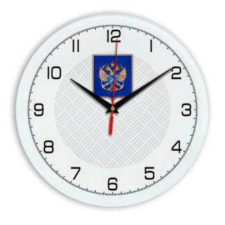 Настенные часы  «gerb-rosrybolovstva-02-54»