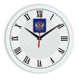 Настенные часы  «gerb-rosrybolovstva-02-55»