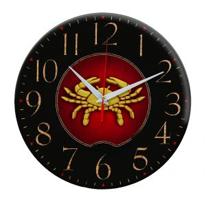 Сувенир – часы Golden Cancer