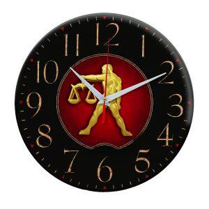 Сувенир – часы Золотые Весы