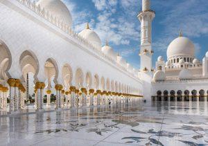 Фото картина мечеть шейха Зайда
