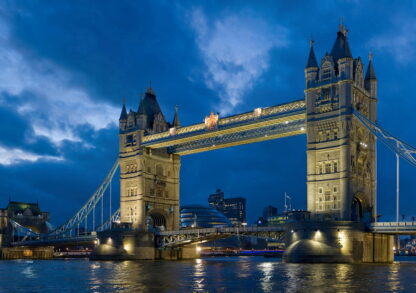 Фото на стекле Английский мост