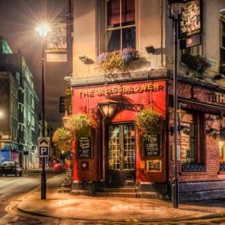 Фото на стекле «Улицы Лондона»