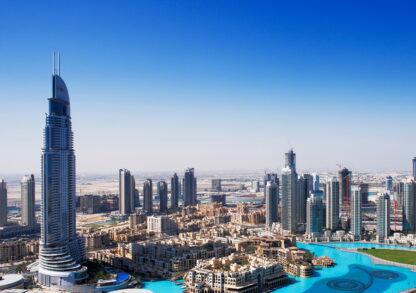 Фото на стекле «Солнечный Дубай»