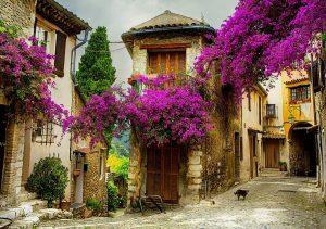 Фото на стекле «Улочки старого города»