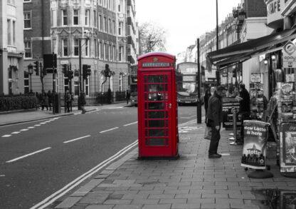 Фото на стекле «Старый добрый Лондон»