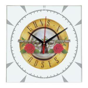 Guns n roses настенные часы 2