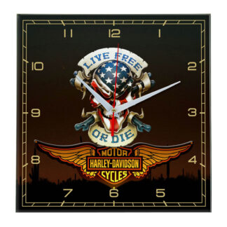 clock-harley-davidson-poster1