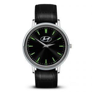 Hyundai 5 наручные часы с логотипом