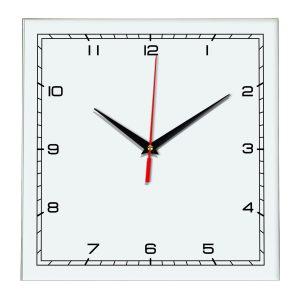 Настенные часы Ideal 832 белые