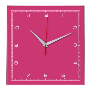 Настенные часы Ideal 832 розовые