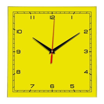 Настенные часы Ideal 832 желтые