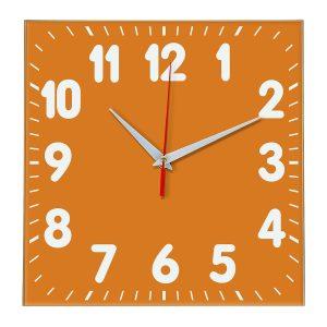 Настенные часы Ideal 833 оранжевый