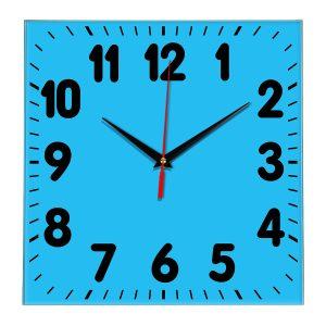 Настенные часы Ideal 833 синий светлый